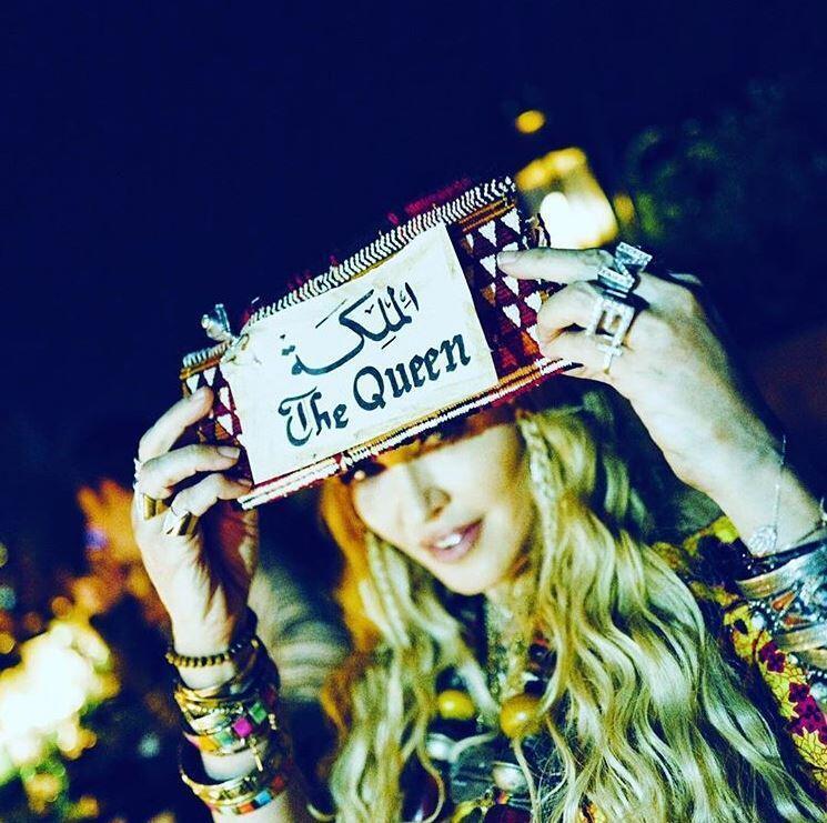 """""""The Queen"""", """"A Rainha"""" do pop, Madonna comemora seus 60 anos em Marrakesh, no Marrocos."""