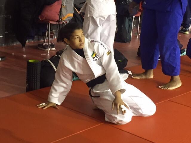 A judoca Sarah Menezes