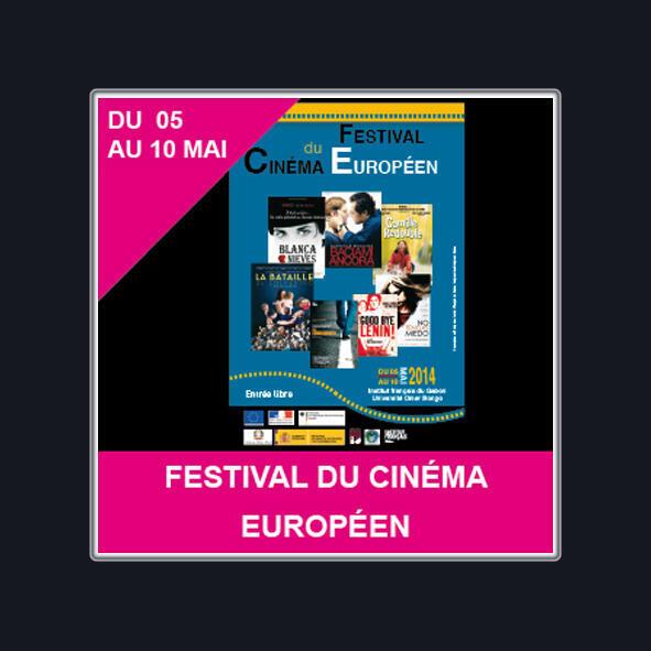 L'affiche du Festival cinéma européen de Libreville, au Gabon (du 5 mai au 10 mai).