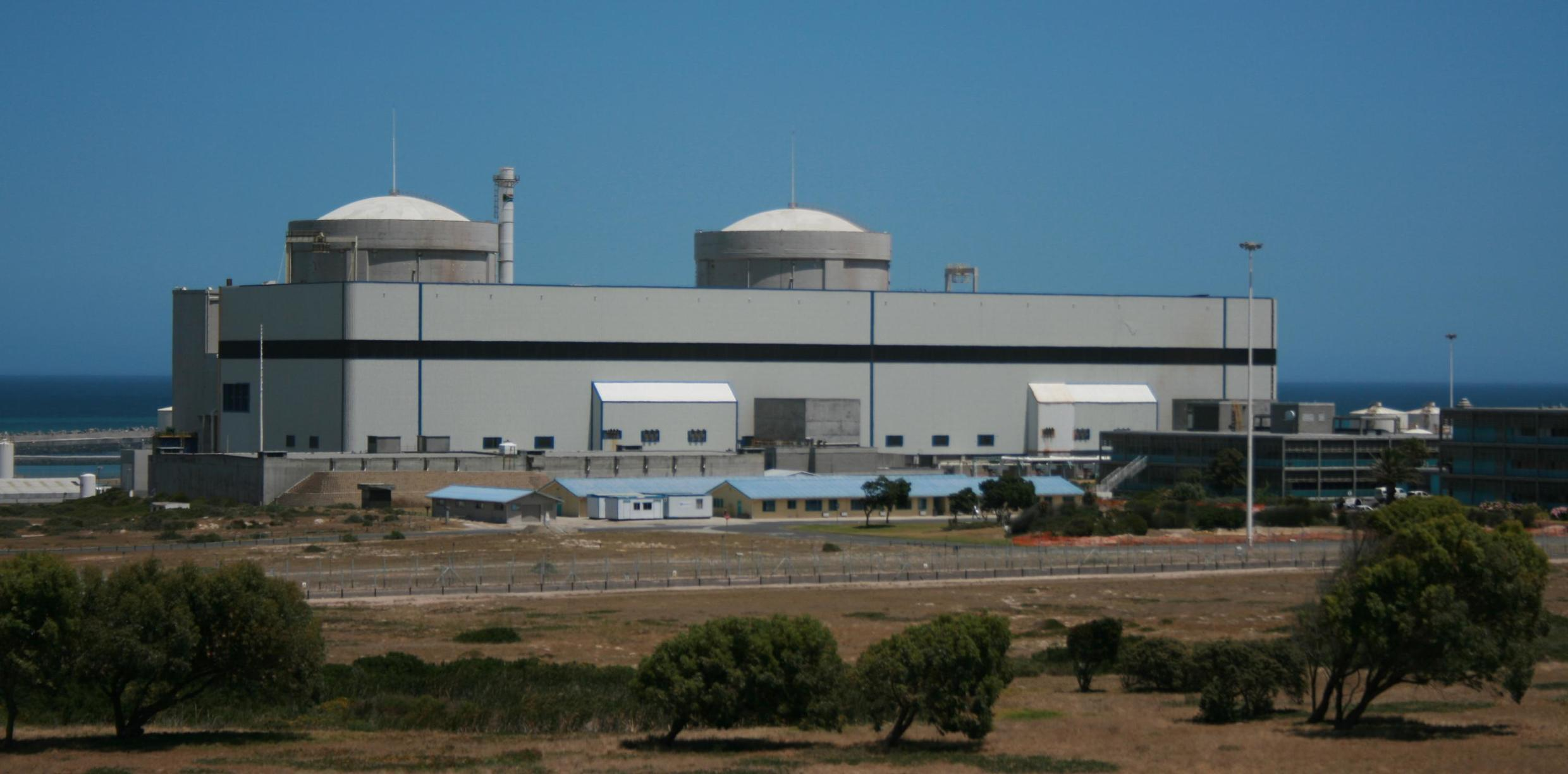 Koeberg nuclear power station is currently the only one in South Africa, and the only one on the entire African continent.