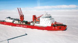 中國現役雪龍號破冰船