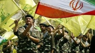 حزبالله لبنان زیر پرچم جمهوری اسلامی ایران