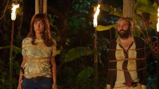 Vimala Pons et Vincent Macaigne dans «La Loi de la jungle», réalisé par Antonin Peretjatko.