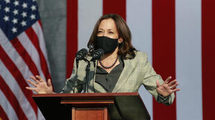 La senadora Kamala Harris es una joven y dinámica compañera de fórmula del demócrata Joe Biden