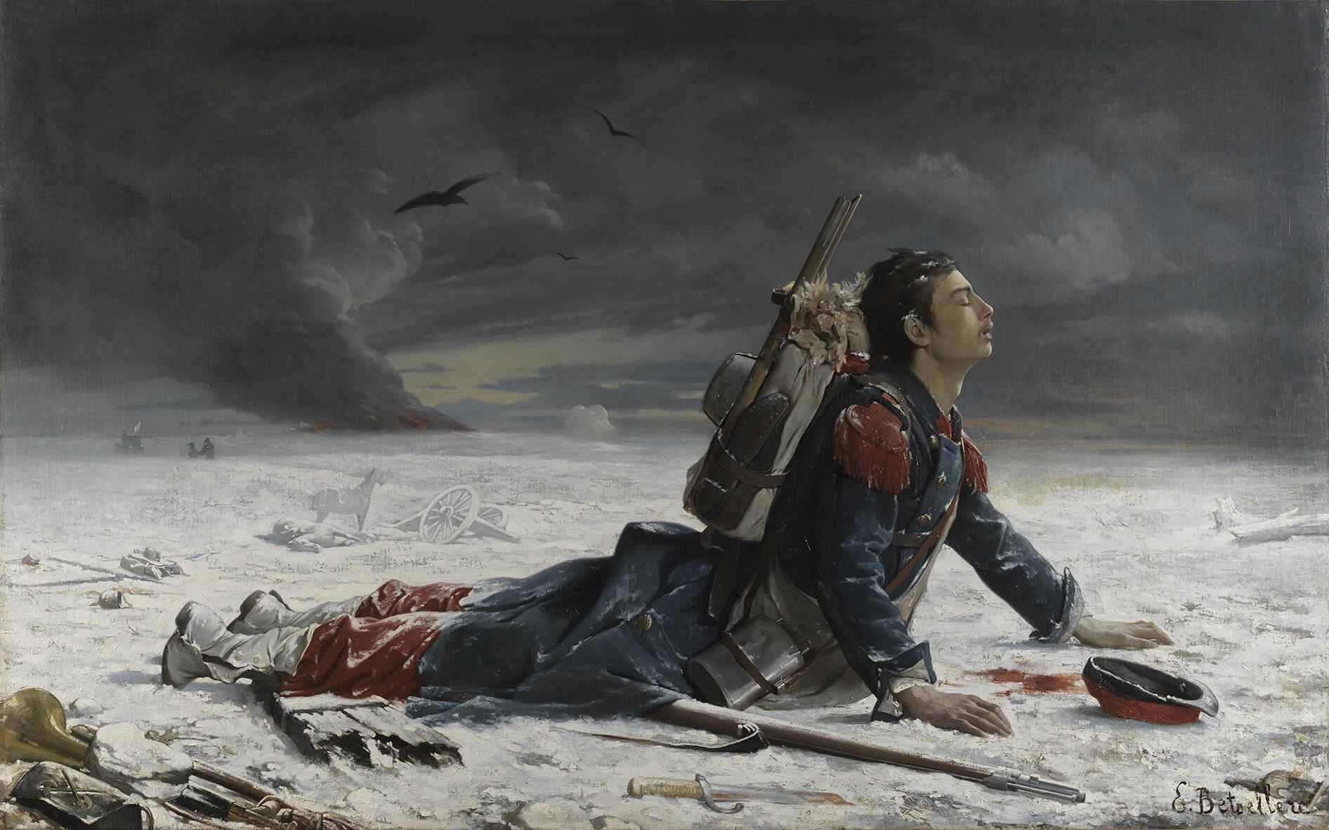 Эмиль Бетселлер (Emile Betsellère) «Забытый», 1872 г.