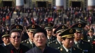 Đại biểu dự Đại hội đảng Cộng sản Trung Quốc lần thứ 18.