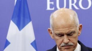 George Papandreou, primeiro-ministro grego