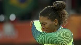 2016 Rio Olympics - Judo - Victory Ceremony - Women -57 kg Victory Ceremony - Carioca Arena 2 - Rio de Janeiro, Brazil - 08/08/2016