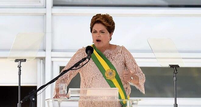 Segunda tomada de posse de Dilma Rousseff
