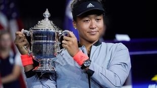 Naomi Osaka beat her idol Serena Williams to claim her first Grand Slam title.