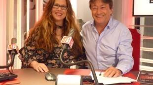 Julia Karp y Jordi Batallé en RFI