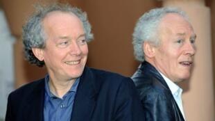 Les frères Jean-Pierre (Gauche) et Luc Dardenne, réalisateurs belges.
