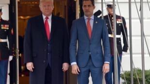 L'opposant vénézuélien Juan Guaido a été reçu ce mercredi à la Maison Blanche par le président américain Donald Trump.