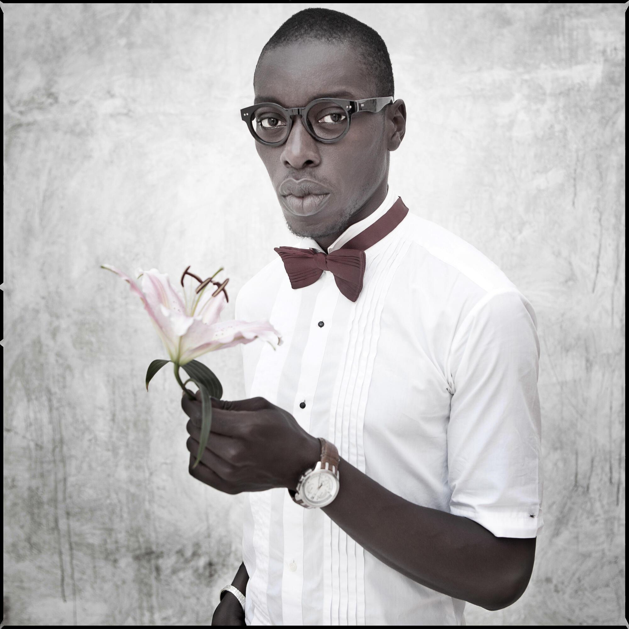 Le photographe sénégalais Omar Victor Diop.