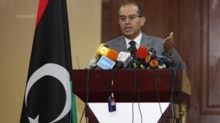 O número 2 do Conselho Nacional de Transição, Mahmoud Djibril.