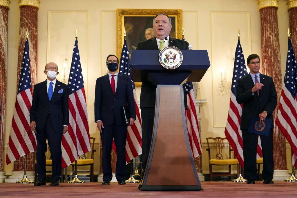 Mike Pompeo - US - Iran - sanction