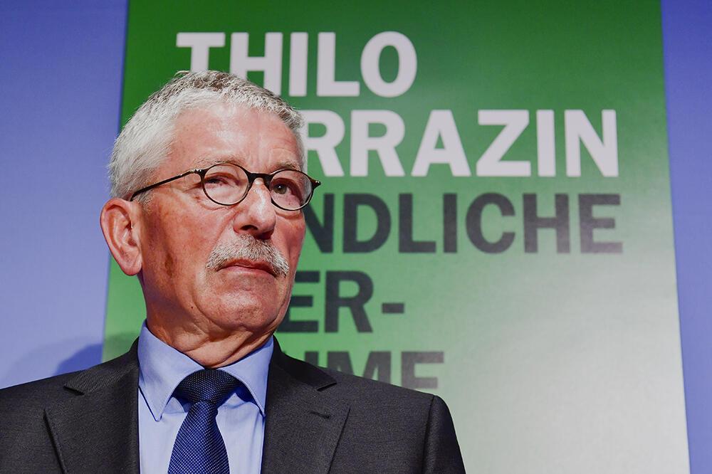 Thilo Sarrazin presenta su nuevo libro, 'Feindliche Übernahme', el pasado 30 de agosto de 2018 en Berlín.