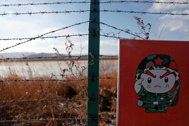 Ảnh minh họa biên giới giữa Trung Quốc, Nga và Bắc Triều Tiên tại thị trấn Hunchun, Trung Quốc, ngày 24/11/2017.