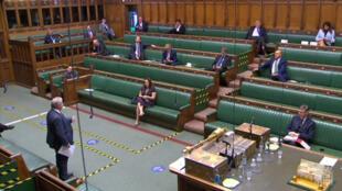 Le Parlement britannique a voté un confinement en Angleterre jusqu'au 2 décembre.