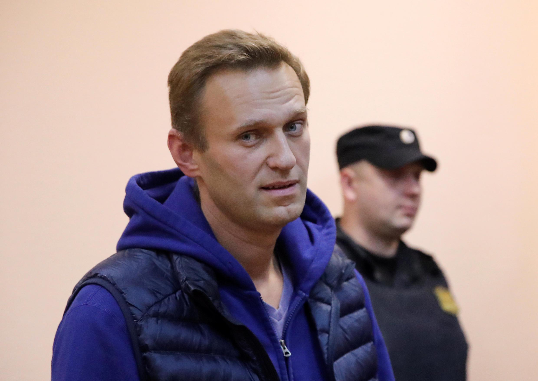 Алексей Навальный в Симоновском суде Москвы, 24 сентября 2018.