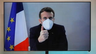 Macron tested positive for the virus last Thursday, showing symptoms of fatigue, coughing and muscle aches
