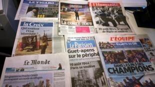 Diários franceses19/08/2014