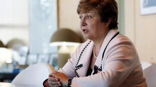 Kristalina Gueorguieva, présidente de la Banque mondiale, à Paris, le 23 août 2019.