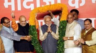 5月23日莫迪再次當選印度總理