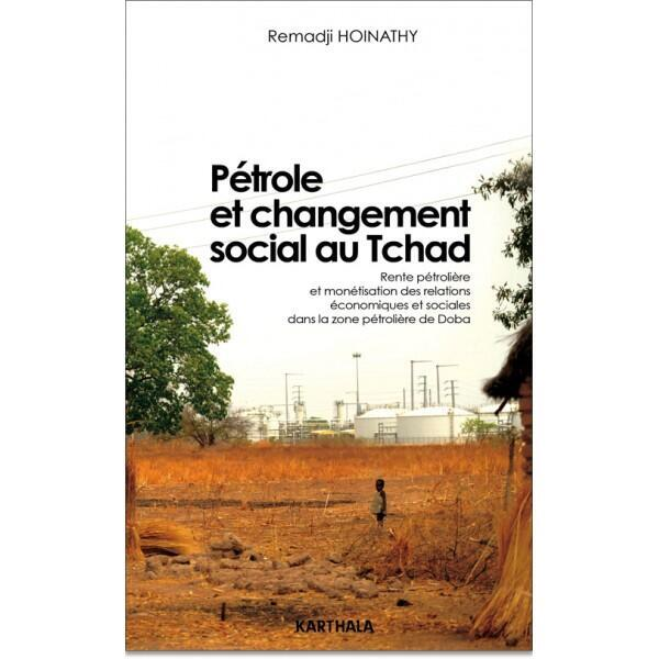 Couverture du livre de l'universitaire tchadien Remadji Hoinathy.