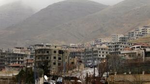 La ville rebelle de Madaya, dans le sud-ouest de la Syrie, est assiégée depuis six mois par l'armée de Bachar el-Assad.