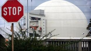 One of the oldest nuclear reactors in Germany, which is set to shut down during a three-month moratorium