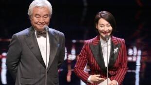 (资料图片)中国大陆演员们在第55届金马奖发言
