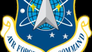 圖為美國太空司令部標識