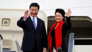 中國國家主席習近平攜夫人外訪。
