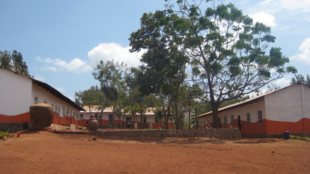 A primary school in Karatu district, Tanzania