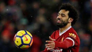 Dan wasan Liverpool  Mohamed Salah ya zura kwallaye 28 a kakar bana a gasar firimiyar Ingila