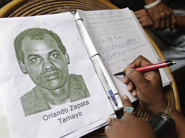 Orlando Zapata Tamayo, tù nhân chính trị Cuba qua đời ngày 23/2