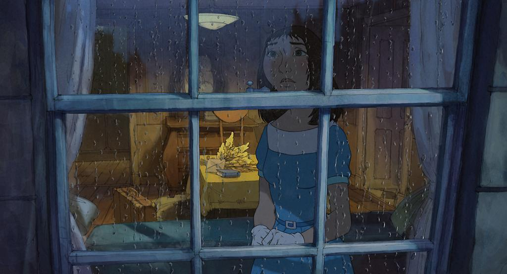 Главная героиня мультфильма, непризнанная дочь Жака Тати?