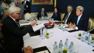 Reunião aconteceu em Viena, na Áustria.