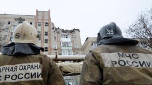 14 января взрыв газа произошел в жилом доме в городе Шахты Ростовской области