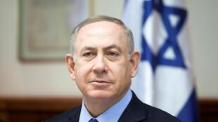 El primer ministro israelí Benjamin Netanyahou