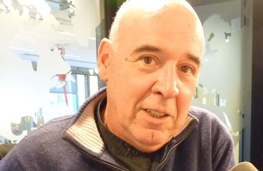 Pablo Parés en los estudios de RFI