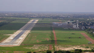 L'aéroport de Ouagadougou (2014).