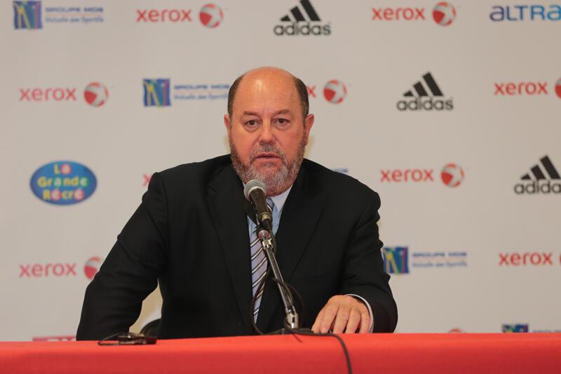 Antonio Espinos, président de la Fédération mondiale de karaté, le 25 novembre 2012.