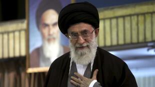 Kiongozi wa kiroho wa Iran  Ayatollah Ali Khamene.