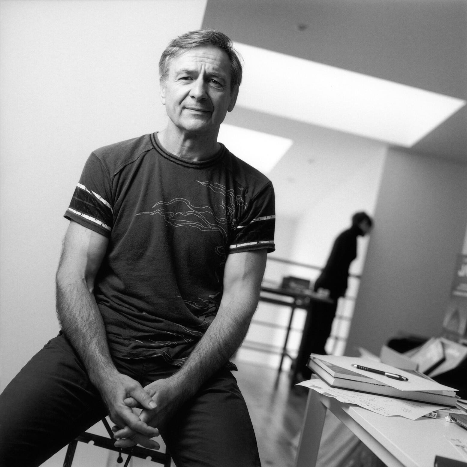L'auteur de bande dessinée, François Boucq.