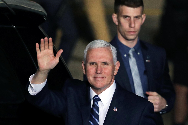 Le vice-président américain Mike Pence est arrivé dimanche soir en Israël.