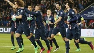 O Paris Saint-Germain venceu em casa, nesta quarta-feira, o Monaco por 2 a 0.