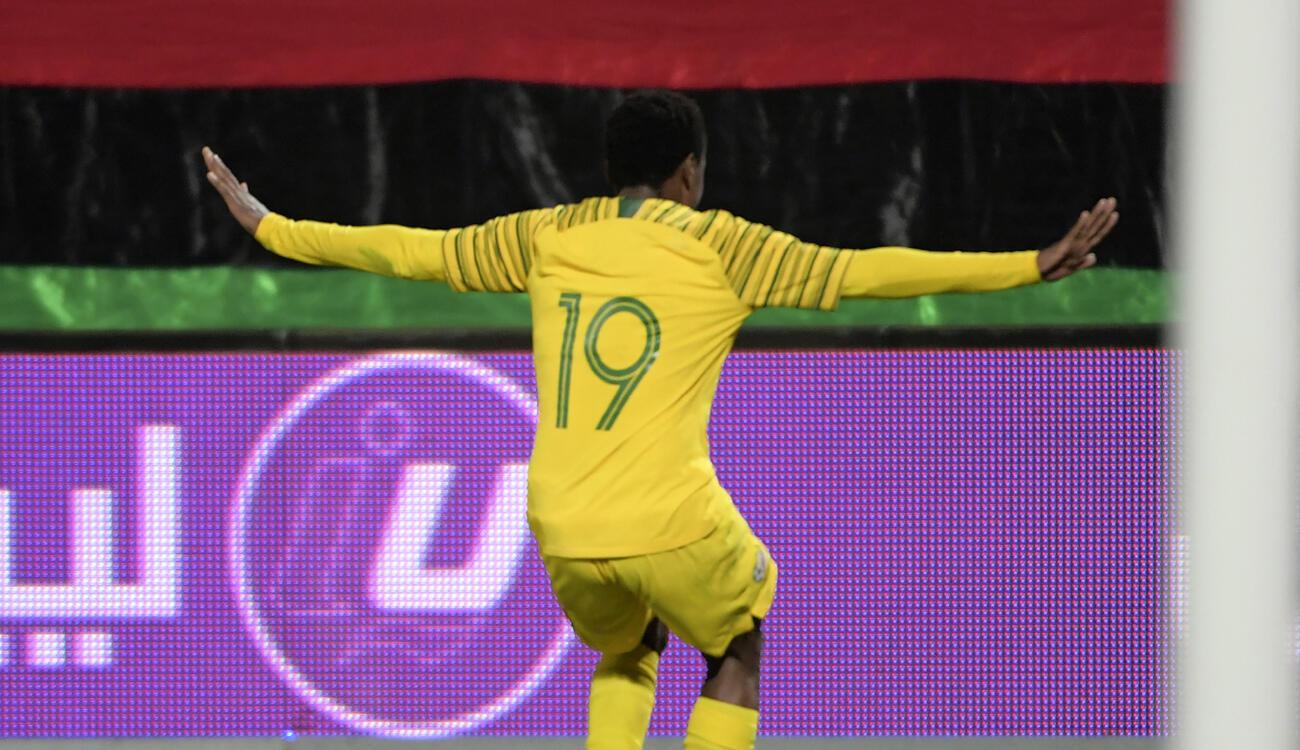 Percy Tau a décroché la dernière place pour la CAN 2019, avec l'Afrique du Sud.