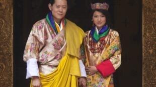不丹王國國王旺楚克2011年10月13日與一位21歲的平民女大學生吉增佩瑪舉行婚禮。